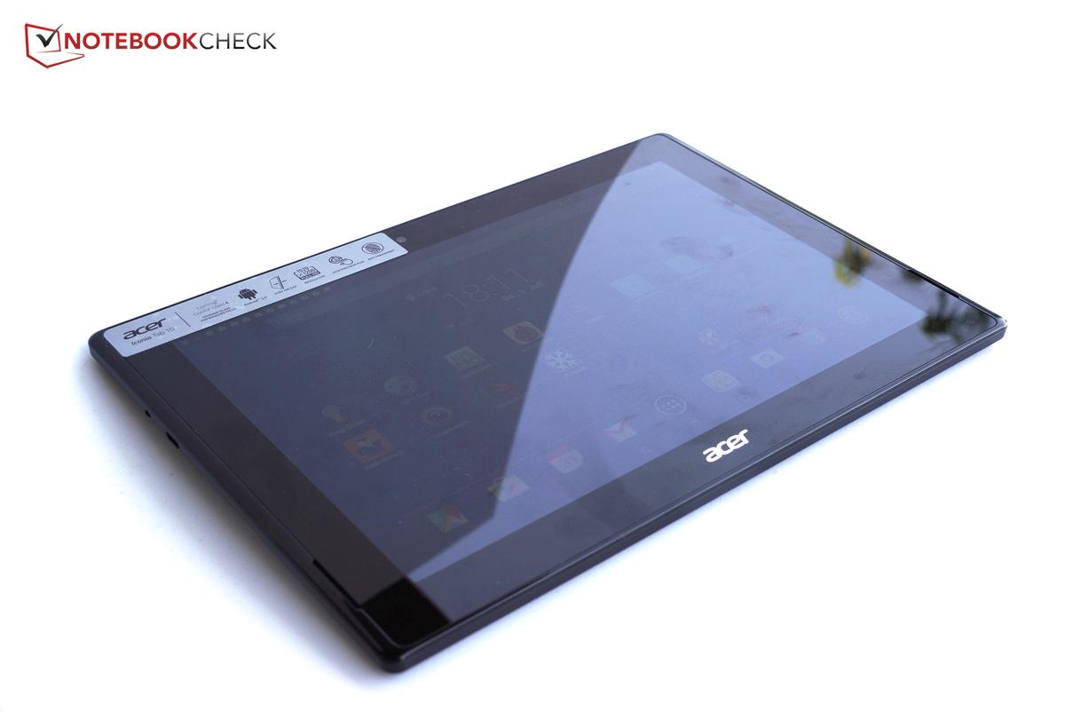 courte critique de la tablette acer iconia tab 10 a3 a30. Black Bedroom Furniture Sets. Home Design Ideas