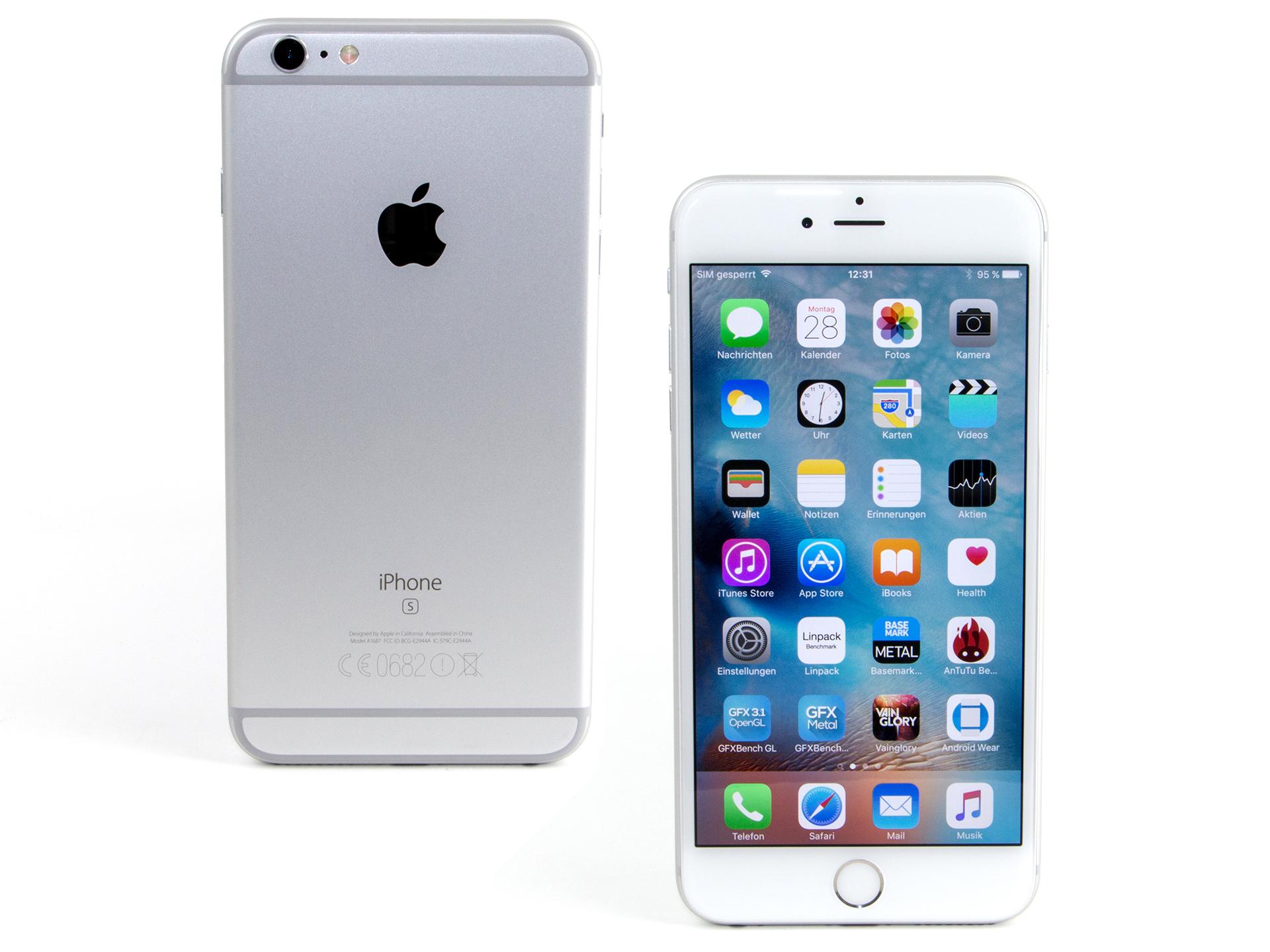 Critique complète du Smartphone Apple iPhone 6S Plus - Notebookcheck.fr 1e6b79568ff8