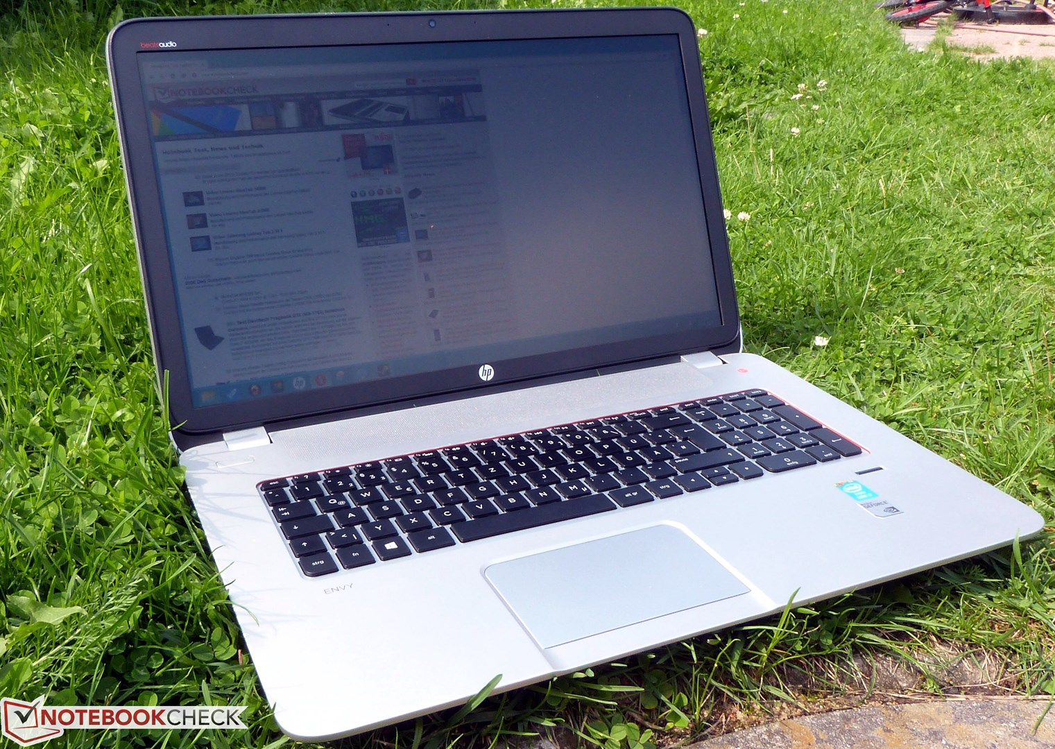 HP Envy 17-2002xx Notebook Windows 7