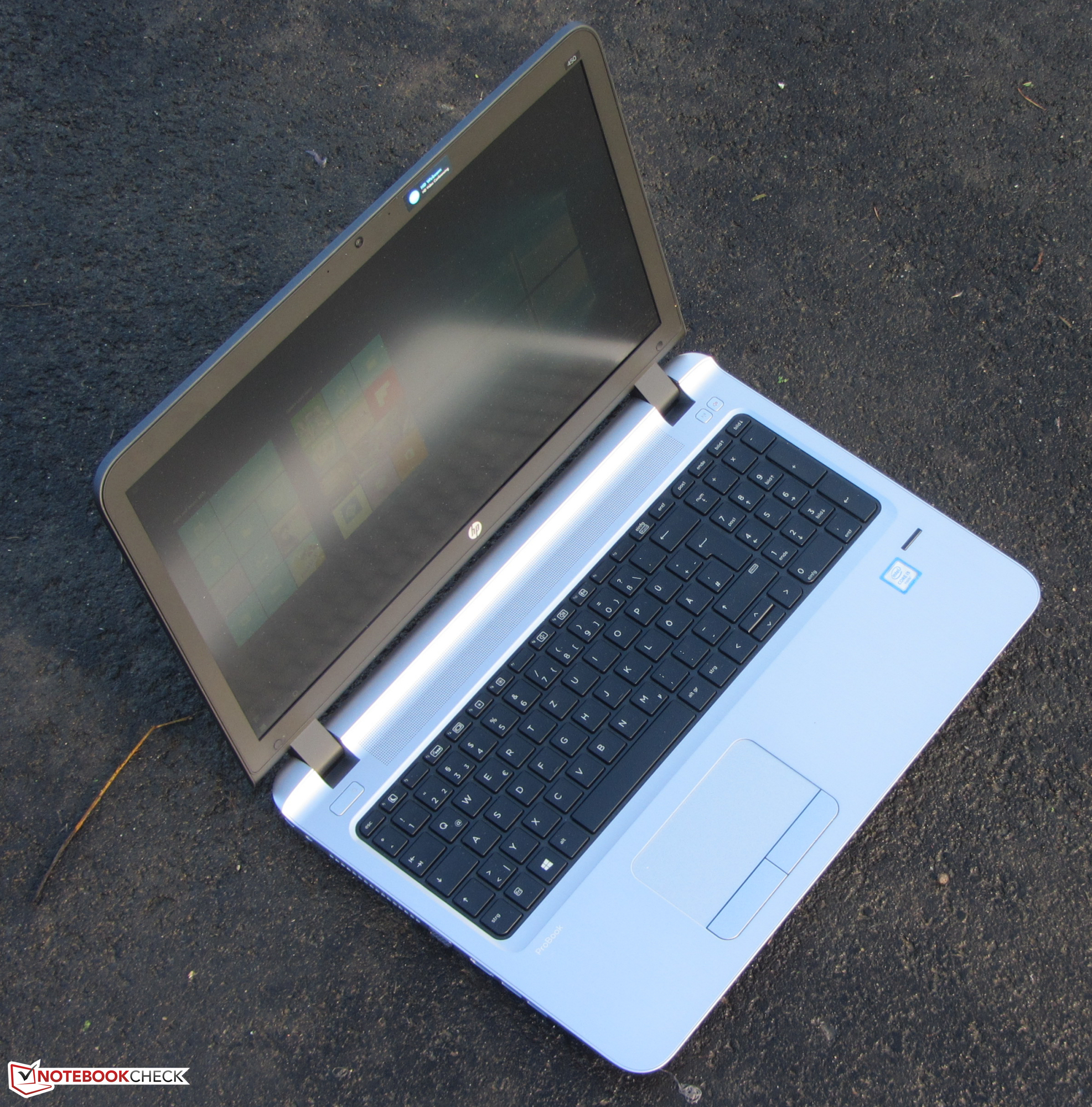da0fd4c0f7ddf3 Courte critique du PC Portable HP ProBook 450 G3 - Notebookcheck.fr