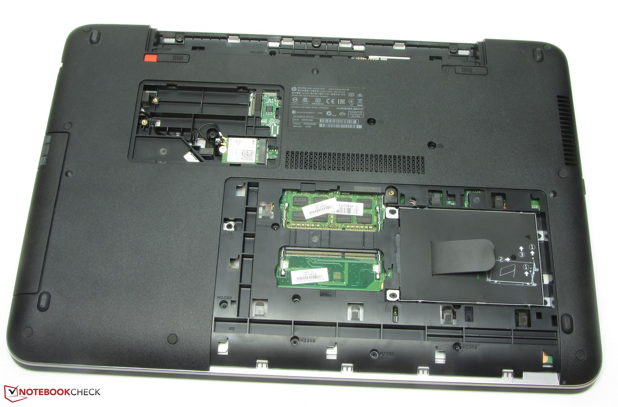 Courte Critique Du Pc Portable Hp Probook 470 G3 Core I7