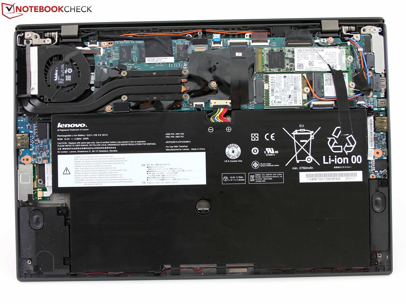 Courte Critique De L Ultrabook Lenovo Thinkpad X1 Carbon
