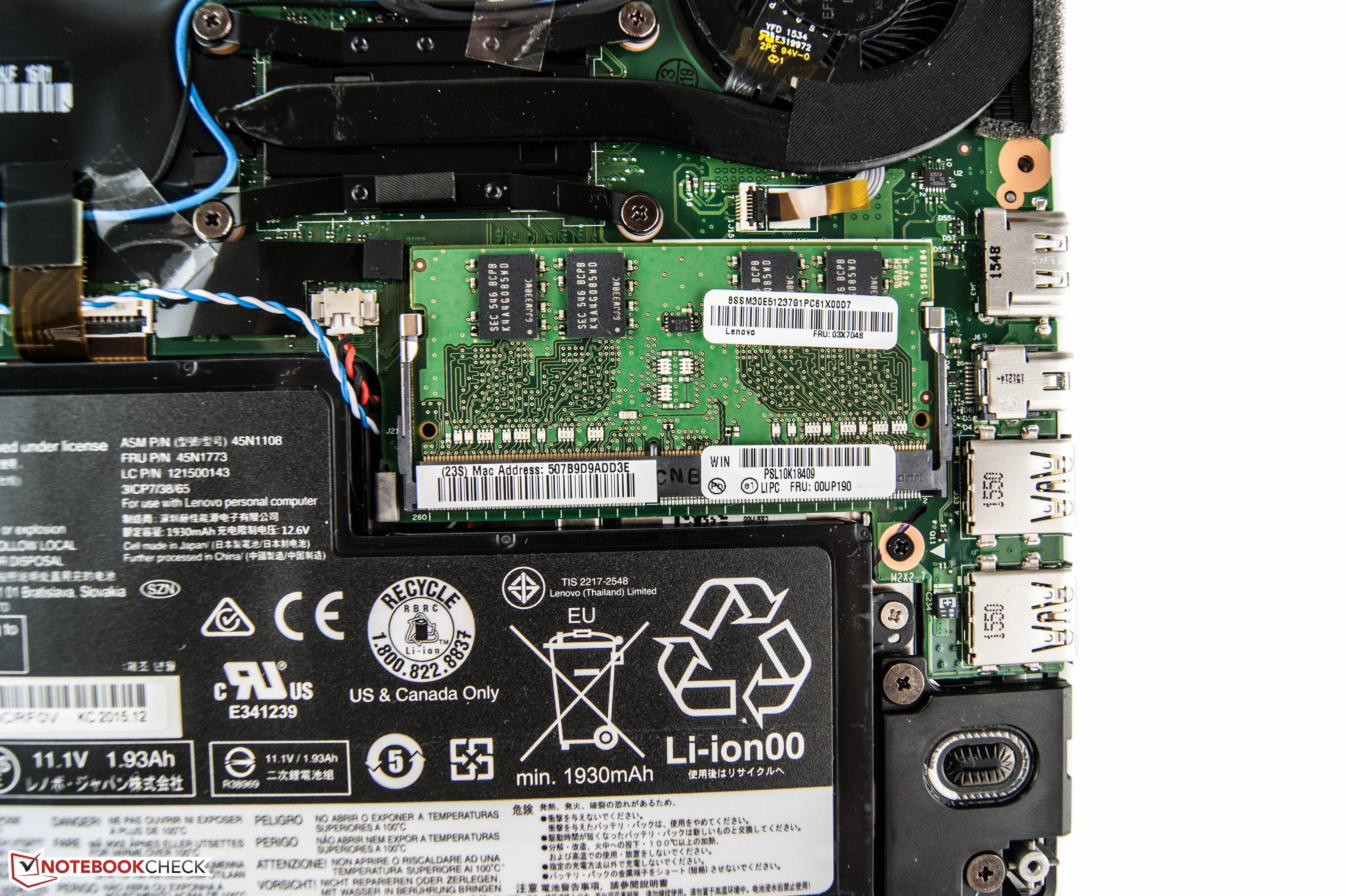 Courte Critique Du PC Portable Lenovo ThinkPad X260 Core