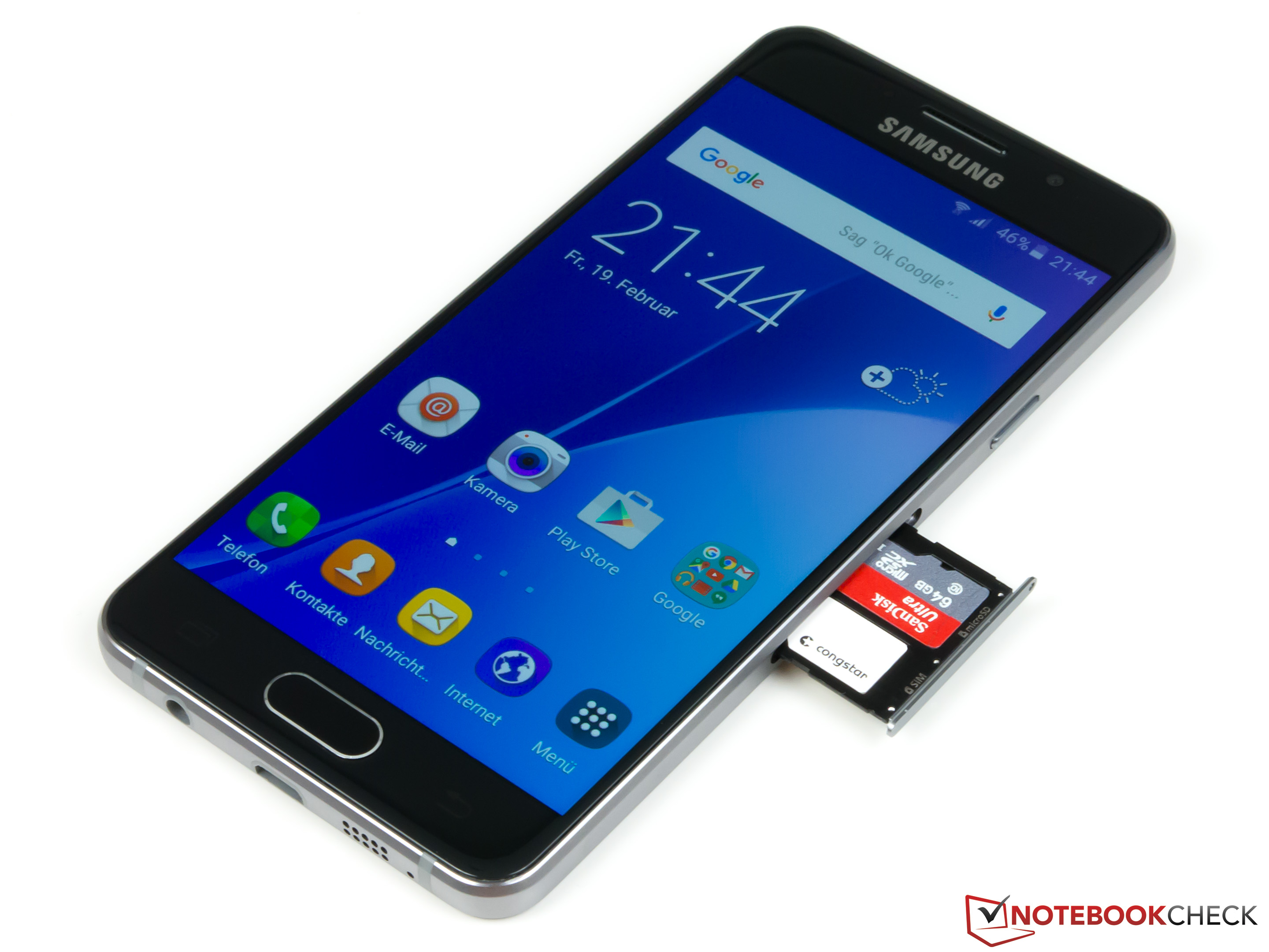how to put sim card into samsung a5