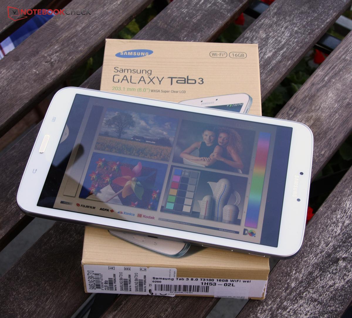 Courte critique de la tablette Samsung Galaxy Tab  SM T