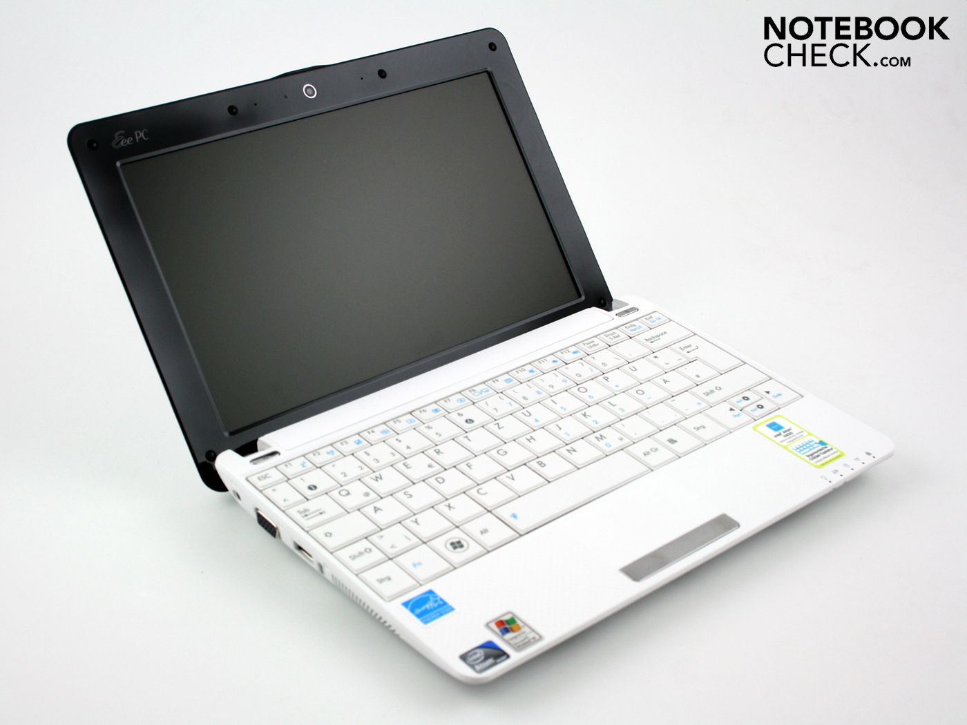 Critique Du Asus Eee Pc 1001p Notebookcheck Fr