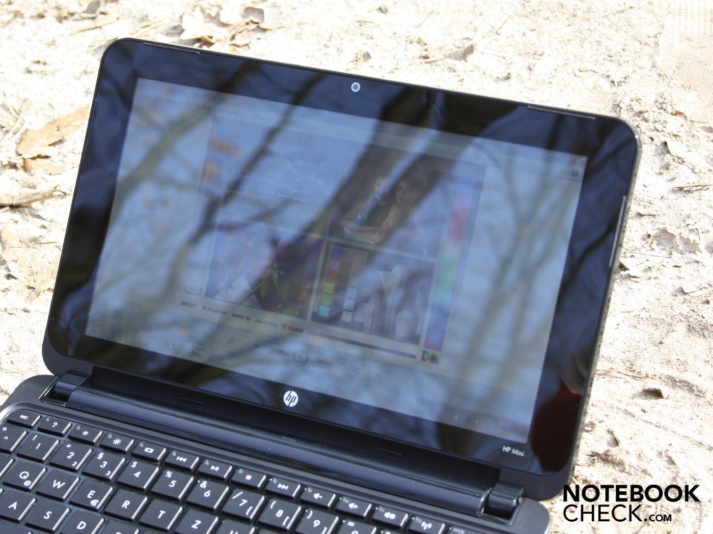 Critique Du Hp Mini 210 1021eg Notebookcheck Fr