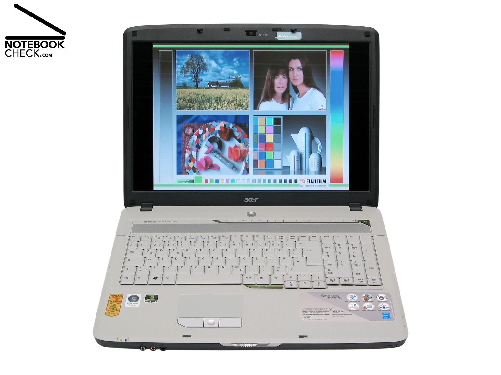 Critique Du Acer Aspire 7520g 602g40 Notebookcheck Fr