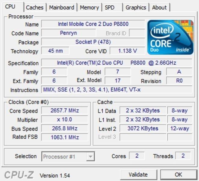 Critique du MacBook Pro  GHz
