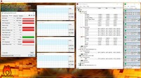 MSI PS63 Modern 8SC - Stress test.