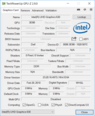 Dell XPS 15 9570 - GPU-Z Intel UHD 630.