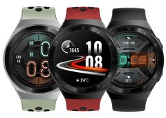 Huawei a lancé la Watch GT 2e en avril. (Source de l'image ; Huawei)