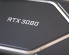 Le RTX 3080 Founders Edition avec son 8. inversé (Source de l'image : Digital Foundry)