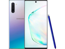 En test : le Samsung Galaxy Note 10. Modèle de test aimablement fourni par notebooksbilliger.de.