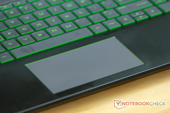 Touchpad du HP Pavilion Gaming 15t.