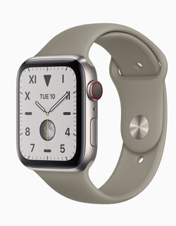 En test : l'Apple Watch Series 5. Modèle de test aimablement fourni par Apple.