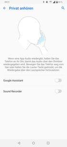 Asus ZenFone 6 - Private Listening.