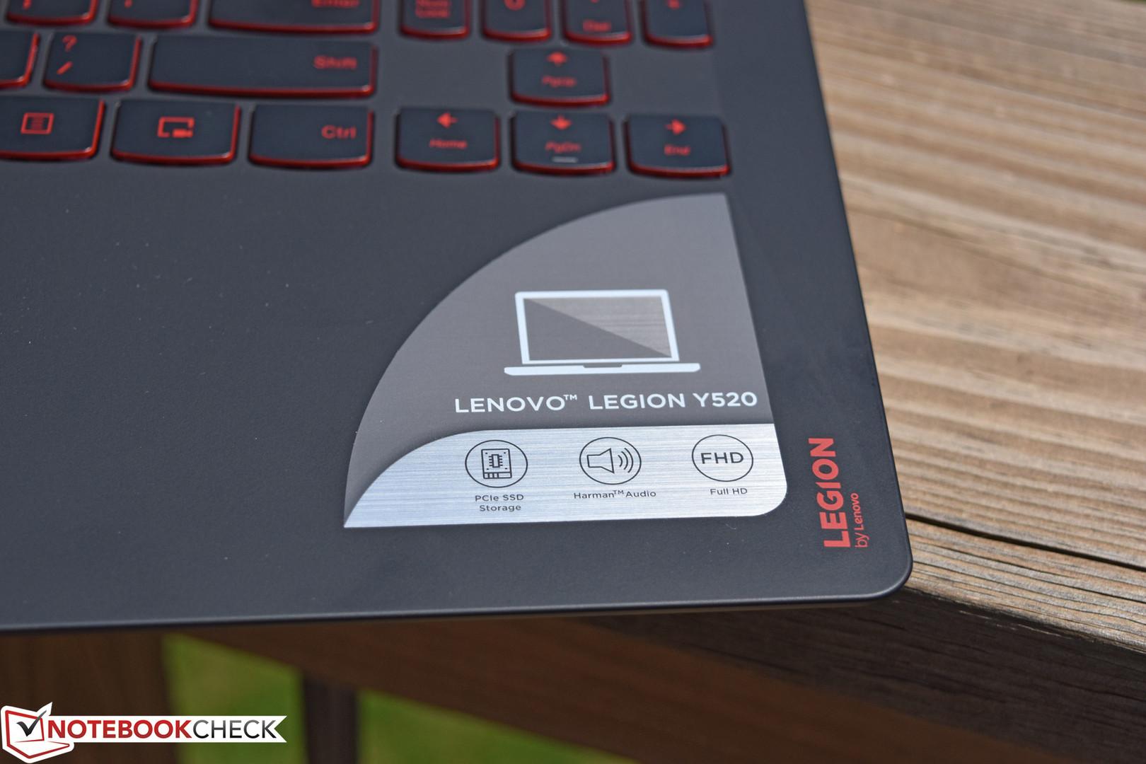 Critique du PC portable de jeu Lenovo Legion Y520 15IKBN