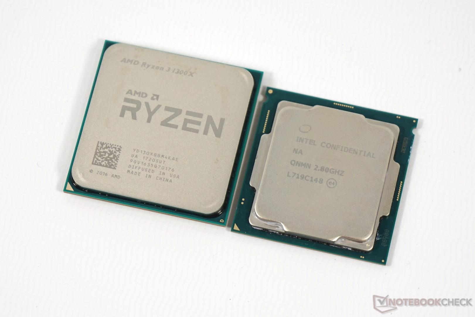 Courte critique des processeurs ryzen 3 1200 et 1300x pour pc de