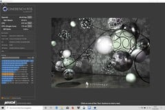 Acer Swift 3 SF313 - Cinebench R15.