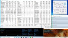 Intel Frost Canyon - Stress test : FurMark+Prime95.