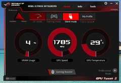 ASUS GPU Tweak II (mode Silencieux)