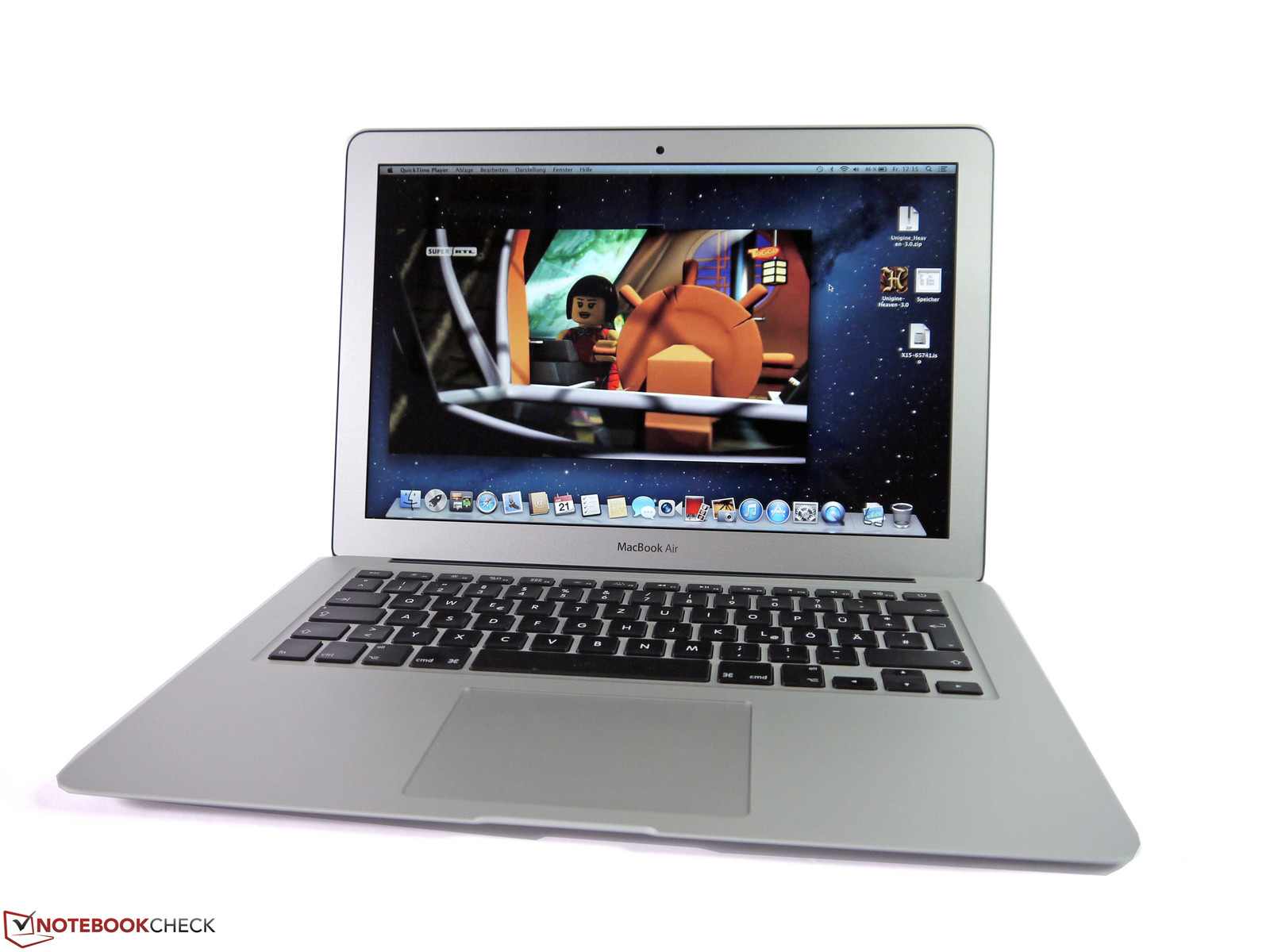 Critique du Apple MacBook Air  pouces Mi MDD A