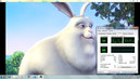 Big Buck Bunny 1080p H264 smooth CPU 20-40%