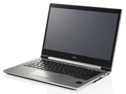 The Fujitsu LifeBook U745. Test model courtesy of Fujitsu.