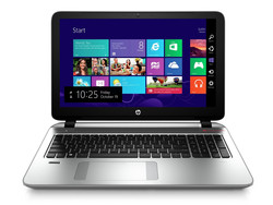 Le HP Envy 15-k203ng, gracieusement mis à notre disposition par Notebooksbilliger.