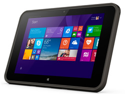 In review: HP Pro Tablet 10 EE G1. Test model courtesy of HP Germany.