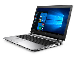 In review: HP ProBook 450 G3. Test model provided by Cyberport.de