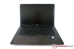 Test: HP ZBook 17 G3. Exemplaire de test fourni par HP Germany.