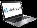Le HP EliteBook Folio 1040 G1.