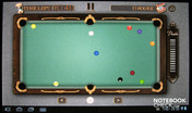 Pool Master Pro in the full-screen mode.