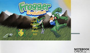 Frogger Evolution can't be played in full-screen mode.