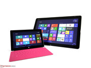 The Microsoft Surface Pro provides a Full-HD resolution...