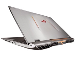 L'Asus ROG G701VO-CS74K, fourni par Xotic PC.