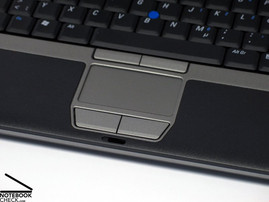 Dell D420 Touch pad