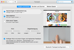 nouveau TrackPad Force Touch