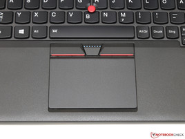 Touchpad et TrackPoint