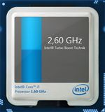 2,6 GHz au maximum en Turbo Boost