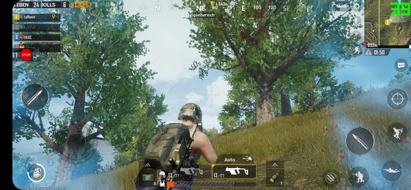 LG G7 ThinQ - PUBG Mobile.