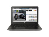 Courte critique de la station de travail HP ZBook 15 G4 (Xeon, Quadro M2200, Full-HD)