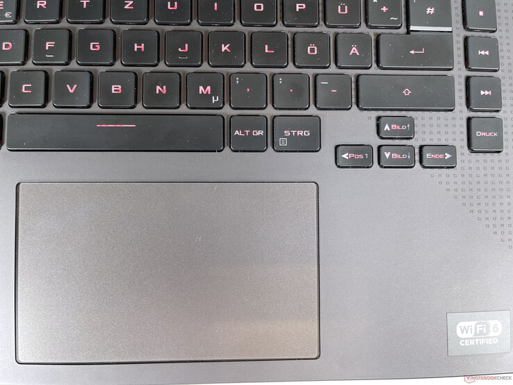 Asus ROG Strix G15 G513 - Touchpad