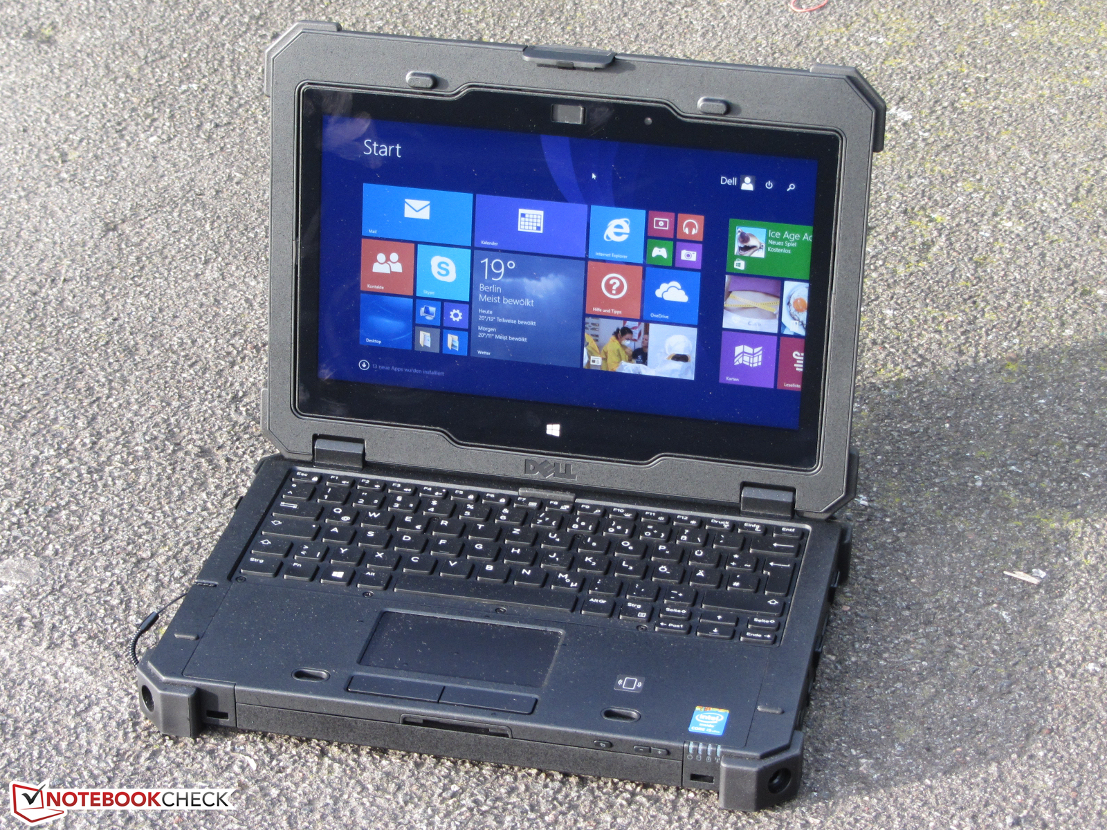 Dell Latitude 12 Rugged Extreme Notebookcheck Fr